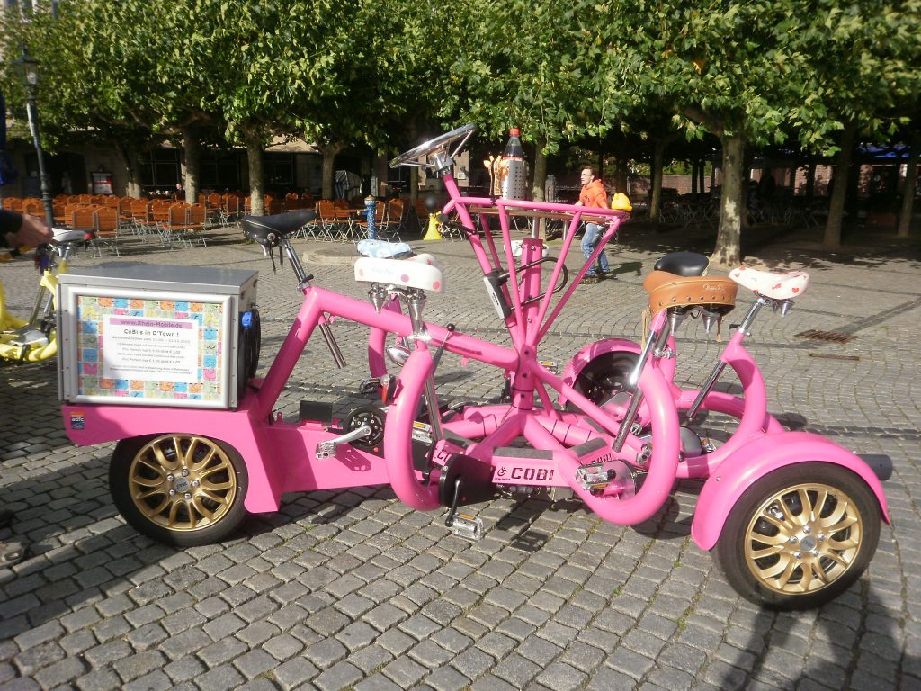 ConferenceBike in Düsseldorf